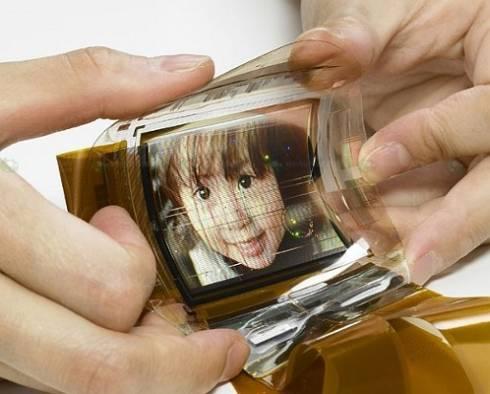 L'écran pliable Sony Oled à technologie supérieure (Organic Light Emitting Diode)