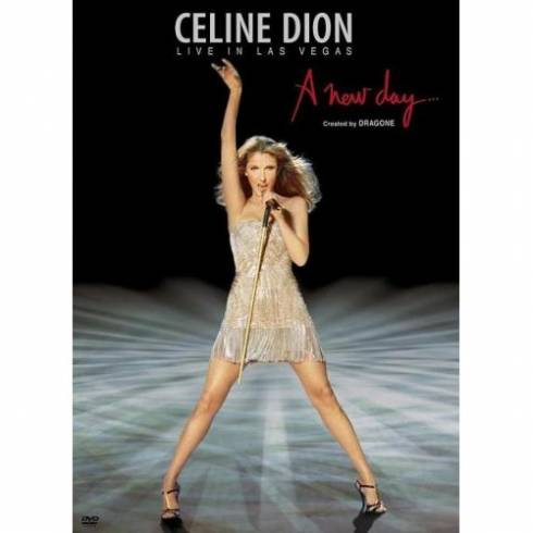 Le coffret DVD de Céline Dion, Live in Las Vegas, A New Day Has Come
