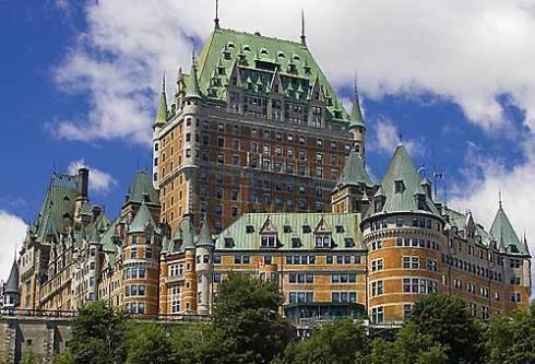 Québec 2008 : Le chateau Frontenac de la ville de Québec