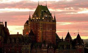 Photo du château Frontenac dans le Vieux Québec