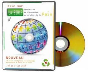 """Le """"DVD BIBLE"""" une version Bible PC avec vidéo, passages et images de la Bible…"""
