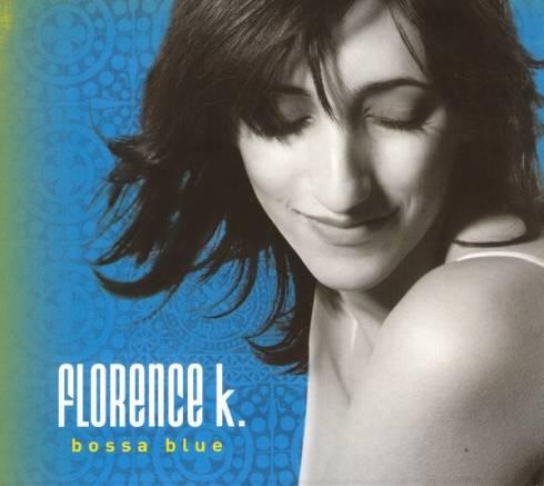 Photo du CD de Florence K. « BOSSA BLUE »