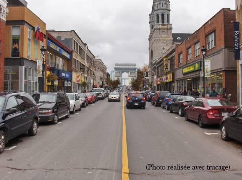 Rue Wellington à Verdun (Québec)