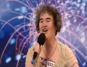 Vidéo de Susan Boyle découverte à