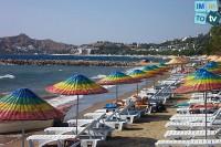 Turquie Yalikavak plage de sable