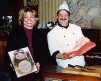 Diane et Alain vos hôtes à La Chaumière Bifteck de Joliette