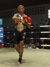 Ismael Grid CHampion du monde muay thaï 2007/2008/2009