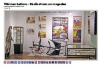 vitrines pour magasin