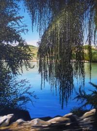 Sur la rive du lac kir