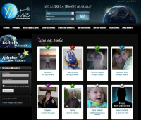 Étoile virtuelle sur www.xlstarsplanet.com
