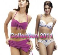 Maillot de bain et lingerie femme collection 2011