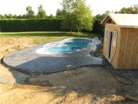Installation de piscine creusee for Installation piscine creusee
