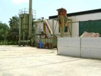 Usine de recyclage avec récupération de metaux, de zinc, aluminium, cuivre, nickel, fonde,...