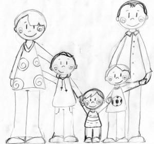 Dessiner La Famille Machroniquecom