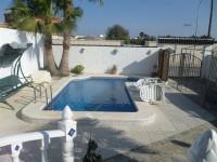 Belle villa individuelle de deux chambres, située à San Luis Lake Side.