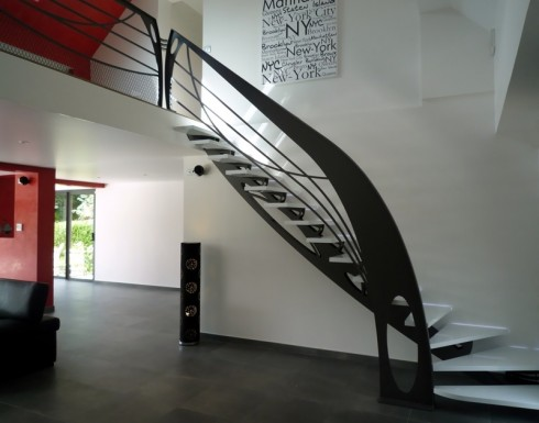 Escalier design la stylique - Deco trap ...