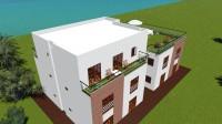 Tunisie Mediterrannee kerkennah residence penthouse 3 chambres avec grande terrasse privée vue mer