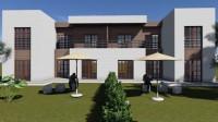 Tunisie Kerkenah villa duplex de luxe avec 3 chambres S+3 vendues meublés et équipées avec pack gestion et rendement locatif
