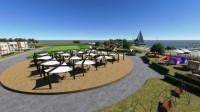 Penthouses vue mer 3 chambres meublés et équipés à 300 m de la plage sur l'ile de Kerkennah