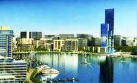 Tunis Bay inauguration du projet du Port Financier Tunis Financial Harbour a Raoued Plage