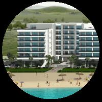 West Gammarth Garden immobilier en Tunisie réservez votre appartement vue mer pieds dans l'eau