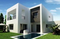 Immobilier Tunisie maison neuve résidence jardin privatif piscine Tunis Bay golf 18 trous