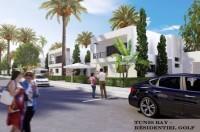 Tunis bay golf résidence villa Oceanos 83 jumelée Boulevard le Capitole