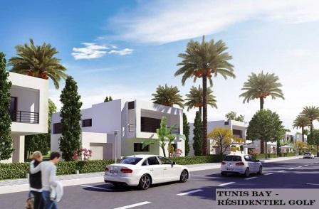 Résidence Golf Tunis Bay villa Mercure Boulevard Meninx ...