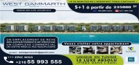 West Gammarth Garden City Résidence réalisation promotion Immobilière Chaabane groupe Chaabane Lil Isken