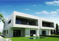 Tunisbaygolf villa venus jumelée 43C avec 5 chambres piscine jardin car-port privé